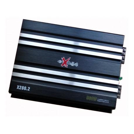 Excalibur Χ280.2 Δικάναλος Ενισχυτής 560 watt