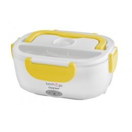 Beper 90.920g Θερμαινόμενο Δοχείο Φαγητού 650ml/450ml 40w - Κίτρινο