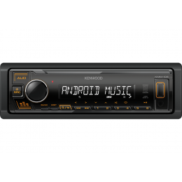 KENWOOD KMM-105AY Digital Media Receiver with Front USB & AUX Input.