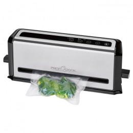 PROFI COOK PC-VK 1133 Ανοξείδωτος σακουλοποιός τροφίμων με αναρρόφηση αέρα, 110W