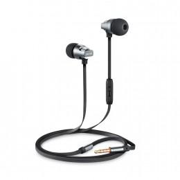 Ακουστικά hands free Celebrat C8 με μικρόφωνο - Μαύρο