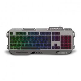 Keyboard RGB Zeroground KB-2300G SAGARA