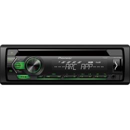 Pioneer DEH-S121UBG Ραδιο-CD με USB με πράσινο φωτισμό πλήκτρων & Remote Control