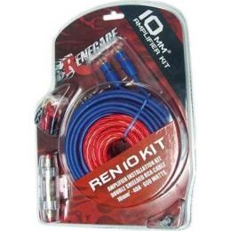 Renegade REN10KIT Σετ Καλωδίων για Ενισχυτή