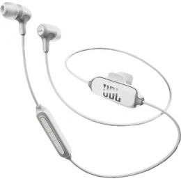 JBL E-25BT In-ear Bluetooth Headphones white