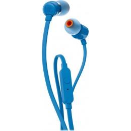 JBL T110 Ενσύρματα Ακουστικά In-Ear Με Πλήκτρο Ελέγχου Και Μικρόφωνο Για Handsfree Κλήσεις blue