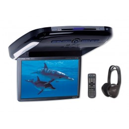 Alpine PKG-2100P 10,2 WVGA Overhead Monitor with DVD-Player