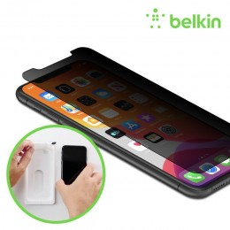 Belkin F8W956zz ScreenForce™ InvisiGlass® Ultra Privacy Screen Protection for iPhone Xs Max/11 PRO M