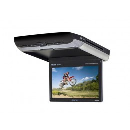Alpine PKG-RSE3HDMI 10.1-inch Overhead Monitor with DVD Player and HDMI Input - Color: black, silver