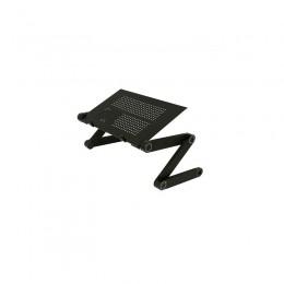 Πτυσσόμενο Τραπεζάκι για Laptop GEM Χρώματος Μαύρο BN1038
