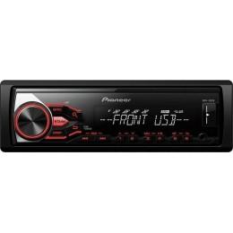 Pioneer MVH-180UB, Ράδιο-MP3 4X50W με θύρα USB και Aux, συμβατό με ANDROID..