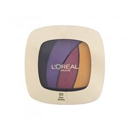 Παλέτα Σκιών L'Oreal με 4 Χρώματα Color Riche Quads Eyeshadow - S3 Disco Smoking LOREAL-Eyeshadow-DS