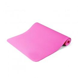 Στρώμα Γιόγκα με Θήκη Μεταφοράς Χρώματος Ροζ Hoppline HOP1000972-3