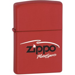 ZIPPO 304 Windproof Motorsports Red Matte Lighter