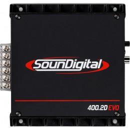 Soundigital 400.2D EVO Ενισχυτής 2x200 W RMS