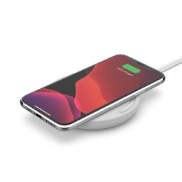 Belkin WIA001btWH BOOST↑CHARGE™ 10W Wireless Charging Pad (AC Adapter Not Included)