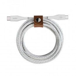 Belkin F8J241bt04-WHT BOOST↑CHARGE™ USB-C™ to USB-C Cable with Strap