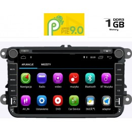 IQ-AN8771M_GPS. VW – SKODA – SEAT GROUP 2004-2014 ANDROID 9 PIE , 8inch