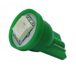 Λαμπτήρας T10 Απλός με 1 SMD 5050 Πράσινο GloboStar 55650
