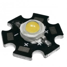 Υψηλής Ισχύος Star LED High Power 5W 3.2V Θερμό Λευκό 3000k GloboStar 47830