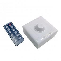 LED Dimmer Τοίχου 12-24 Volt με IR Control 192-384 Watt GloboStar 77406