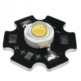 Υψηλής Ισχύος Star LED High Power 3W 3.2V Θερμό Λευκό 3000k GloboStar 57730