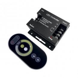Ασύρματο LED CCT Controler Touch 12-24 Volt 144/288 Watt GloboStar 77408
