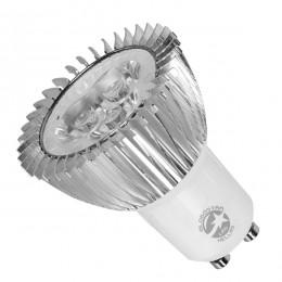 Λάμπα LED Σποτ GU10 3W 230V 260lm 45° Θερμό Λευκό 3000k Dimmable GloboStar 77398