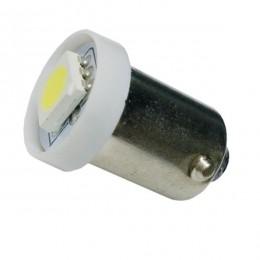 Λαμπτήρας LED Ba9s με 1 SMD 5050 Ψυχρό Λευκό GloboStar 52000