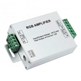 LED RGB Ενισχυτής Σήματος Αλουμινίου 12v (144w) - 24v (288w) GloboStar 88830