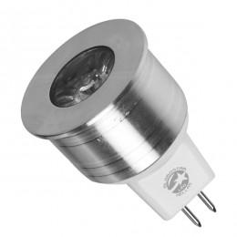 Λάμπα LED Σποτ MR11 GU5.3 4W 10V-30V 300lm 35° Μπλε GloboStar 88963