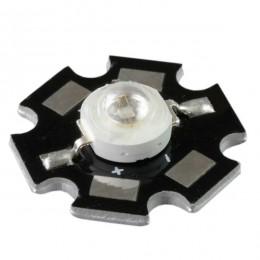 Υψηλής Ισχύος Star LED High Power 3W 3.2V Μπλε GloboStar 88975