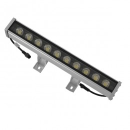 LED Wall Washer 9W 24V 585lm 30° 30cm Αδιάβροχο IP65 DMX512 RGB GloboStar 05004