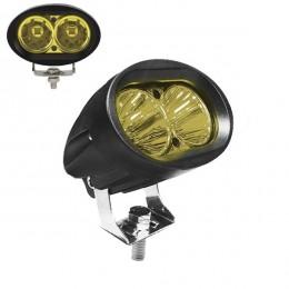 Προβολάκι LED 20W 10-30V 2800lm 30° Αδιάβροχο IP65 Κίτρινο GloboStar 05196