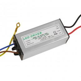 Μετασχηματιστής Προβολέα LED 50W IN 230V OUT 1500mA DC 0.95PF GloboStar 47855