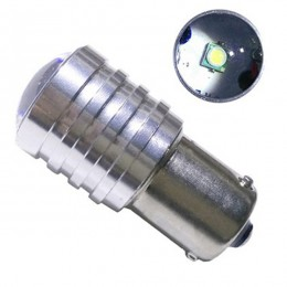 Λαμπτήρας LED BAU15S 1 CREE LED 10 Watt Ψυχρό Λευκό GloboStar 55633