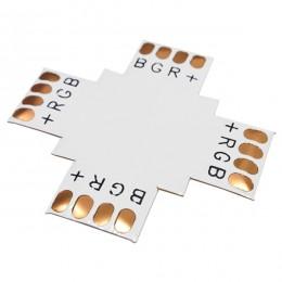 Connector + για Ταινία LED 7.2 & 14.4 Watt RGB GLoboStar 77449