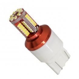 Λαμπτήρας LED T20 7443 με 57 SMD Can Bus 3014 Ψυχρό Λευκό GloboStar 88923