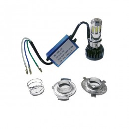 LED Βασικός Φωτισμός Μοτοσυκλέτας H4/HS1 35 Watt 8-80 Volt 3500 Lumen GloboStar 67788