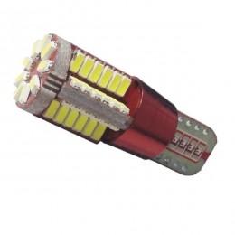 Λαμπτήρας LED T10 57 SMD 3014 Can Bus 12 Volt Ψυχρό Λευκό GloboStar 21219