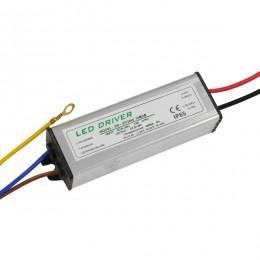 Μετασχηματιστής Προβολέα LED 30W IN 230V OUT 900mA DC 0.95PF GloboStar 47854