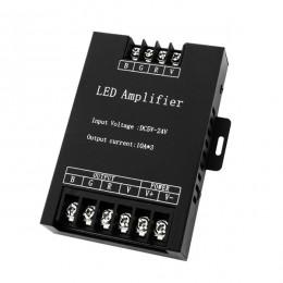LED RGB Ενισχυτής Σήματος Αλουμινίου 5v (150w) - 12v (360w) - 24v (720w) GloboStar 04037