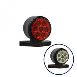 LED Set Πλευρικά Φώτα Όγκου Φορτηγών IP66 Κέρατο 10SMD 24 Volt GloboStar 75490