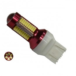 Λαμπτήρας LED T20 7443 Can Bus με 78 SMD 4014 10-30v 6000k GloboStar 40191
