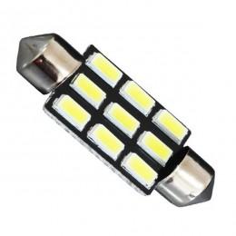 Σωληνωτός LED PCB 39mm με 9 SMD 5630 Samsung Chip Λευκό 6000k GloboStar 40181