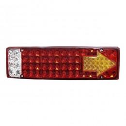 Πίσω Φανάρι Φορτηγού 73 LED 24 Volt Βέλος Universal IP66 GloboStar 75518
