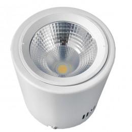LED Φωτιστικό Σποτ Οροφής Down Light 15W 230V 2250lm 24° Θερμό Λευκό 3000k GloboStar 93000