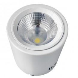 LED Φωτιστικό Σποτ Οροφής Down Light 15W 230V 2250lm 24° Φυσικό Λευκό 4500k GloboStar 93001