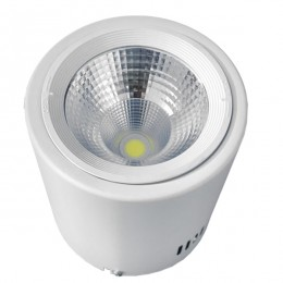 LED Φωτιστικό Σποτ Οροφής Down Light 15W 230V 2250lm 24° Ψυχρό Λευκό 6000k GloboStar 93002