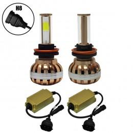 LED HID KIT H8 45 Watt 4500 Lumen 9-32 Volt DC 6000k GloboStar 99704